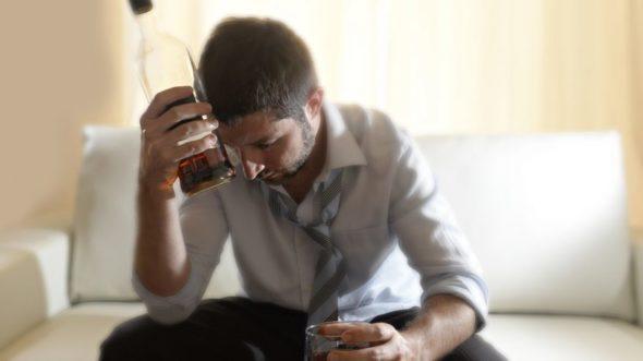 Portret alkoholika