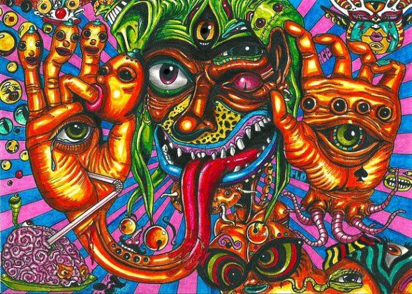 Halucynacje wzrokowe